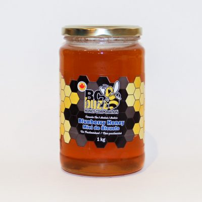 BC Buzz Blueberry Honey 1kg