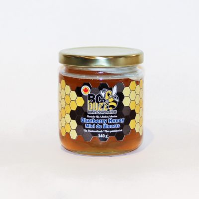 BC Buzz Blueberry Honey 340g