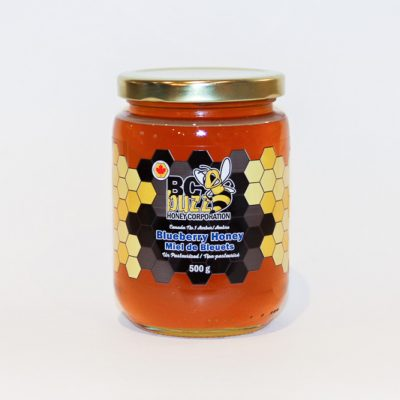BC Buzz Blueberry Honey 500g