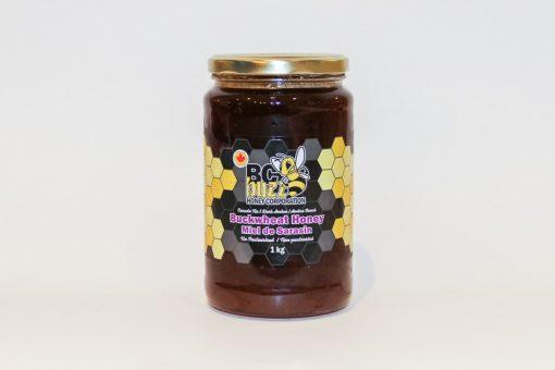 BC Buzz Buckwheat Honey 500g