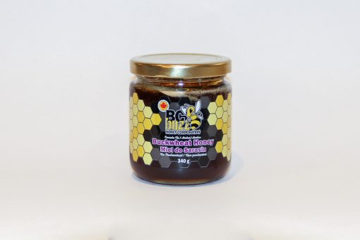 BC Buzz Buckwheat Honey 340g