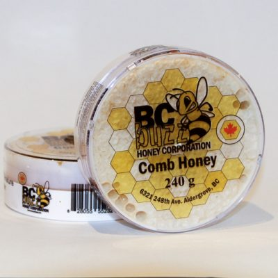 BC Buzz Comb Honey 240g