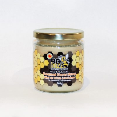 BC Buzz Creamed Clover Honey 340g