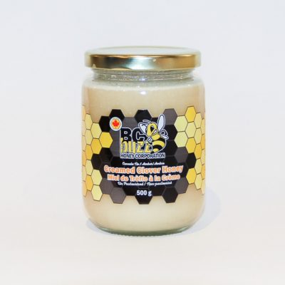 BC Buzz Creamed Clover Honey 500g