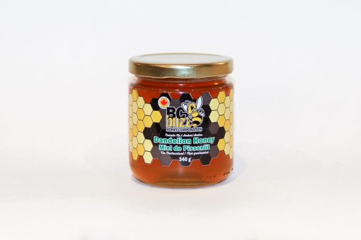 BC Buzz Dandelion Honey 340g